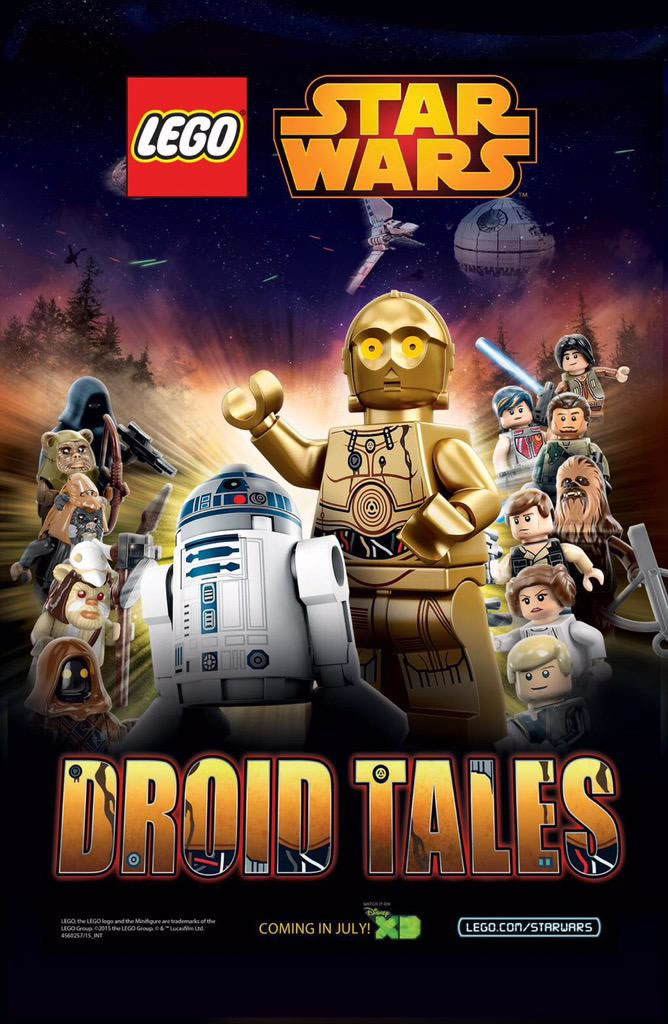 'Lego Star Wars: Droid Tales' will give a starring role to C-3PO and R2-D2