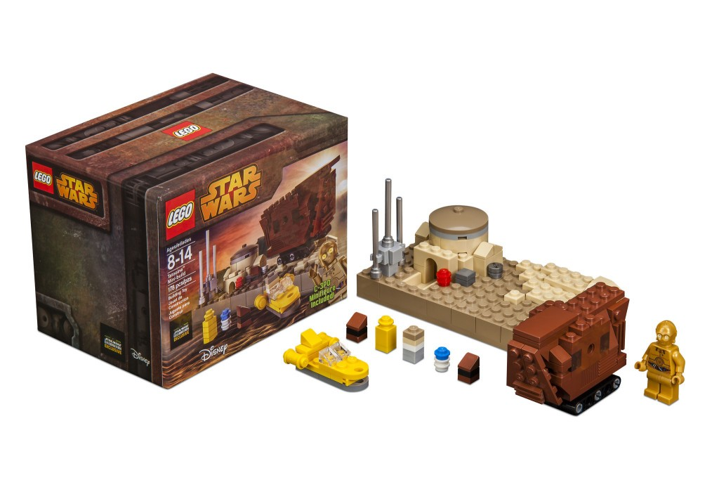 D'aww! Tatooine Mini-Build is the cutest set you'll ever see for the planet furthest from the bright center to the universe