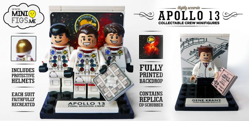 Houston, we have a purchase! Custom Apollo 13 minifigs now available