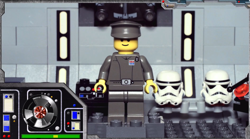 Minifig Galaxy: 'Classic Star Wars' Imperial Officer