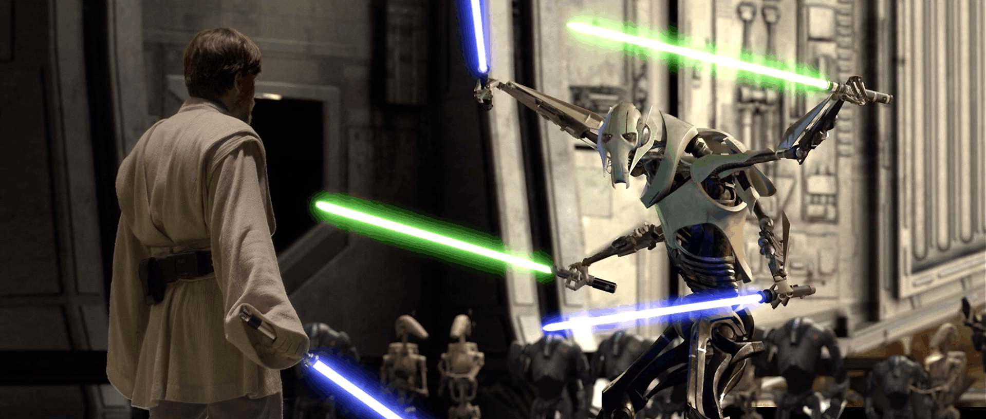 Revenge of the bricks! Recreate Obi-Wan Kenobi's epic battle with General Grievous