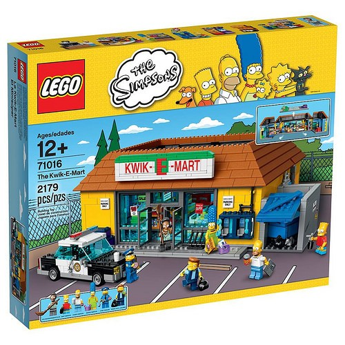 Who needs a Lego Kwik-E-Mart? I do!