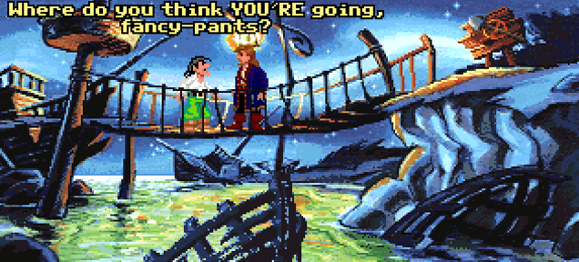 'Where do you think YOU'RE going, fancy bricks?': Monkey Island gets Lego makeover