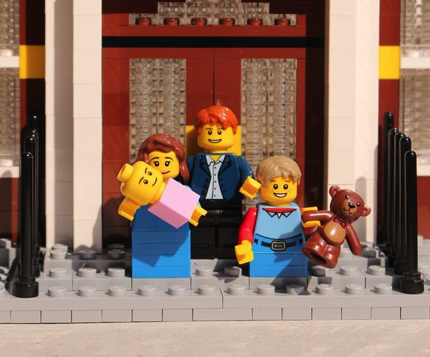 Check out this Royal Baby set — complete with William, Kate and George minifigs