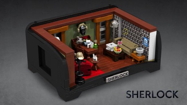 This super-fan made Lego consider 'Sherlock' and 'Zelda' sets