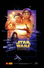 The Force is strong with these awesome Lego 'Star Wars' posters