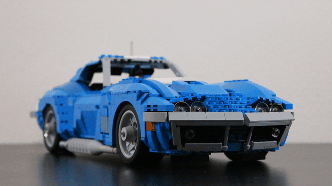 This Lego Chevy '69 is sure to get your engine revving