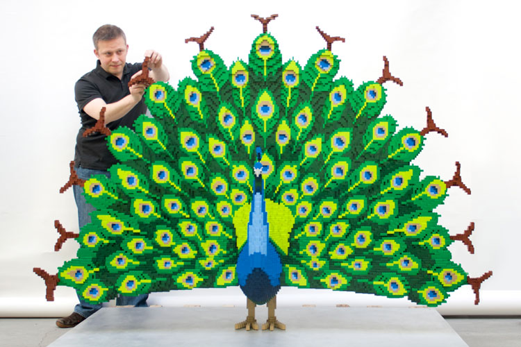 It took 464,770 Lego bricks to build the perfect zoo