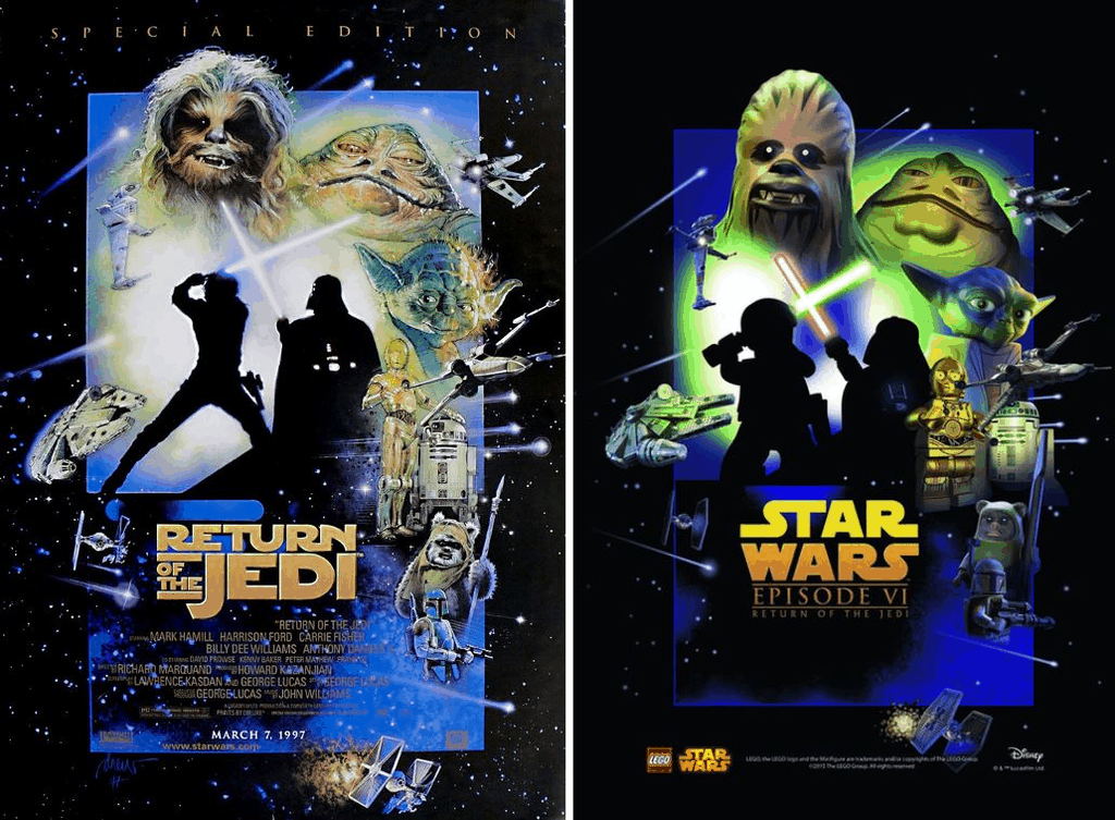 Exclusive! Legendary artist Drew Struzan comments on Lego versions of his posters