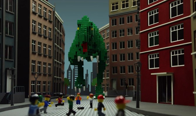 You have to check out this amazing Lego stop-motion movie