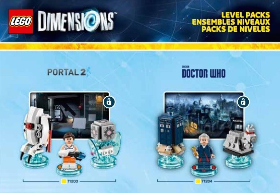 'The Simpsons,' 'Portal 2' and 'Doctor Who' join 'Lego Dimensions' cast