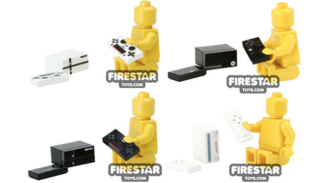 Tiny games consoles are the coolest minifig accessories ever