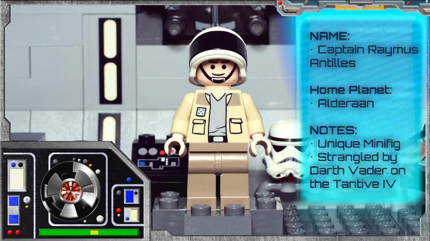Minifig Galaxy 'Classic LEGO Star Wars' Tantive IV Set 10198 – 2009