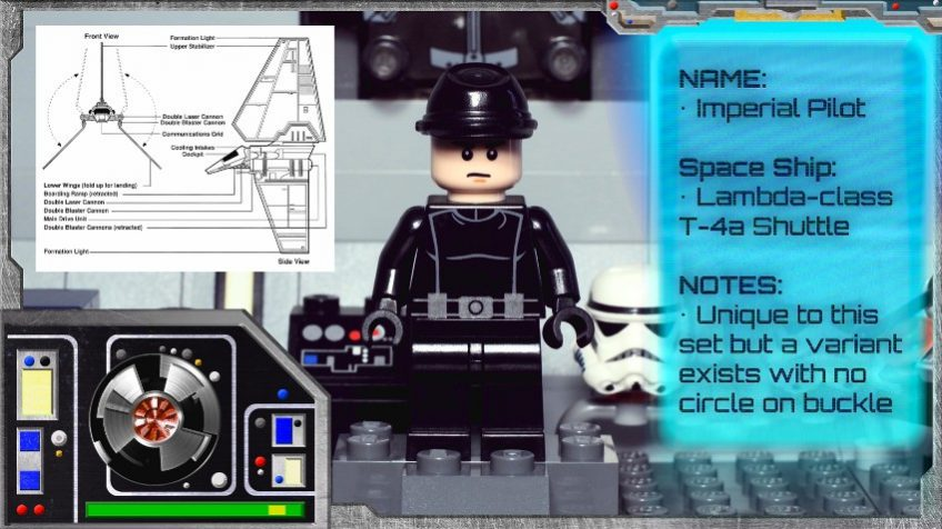 Minifig Galaxy 'Classic LEGO Star Wars' Imperial Shuttle Set 10212 – 2010