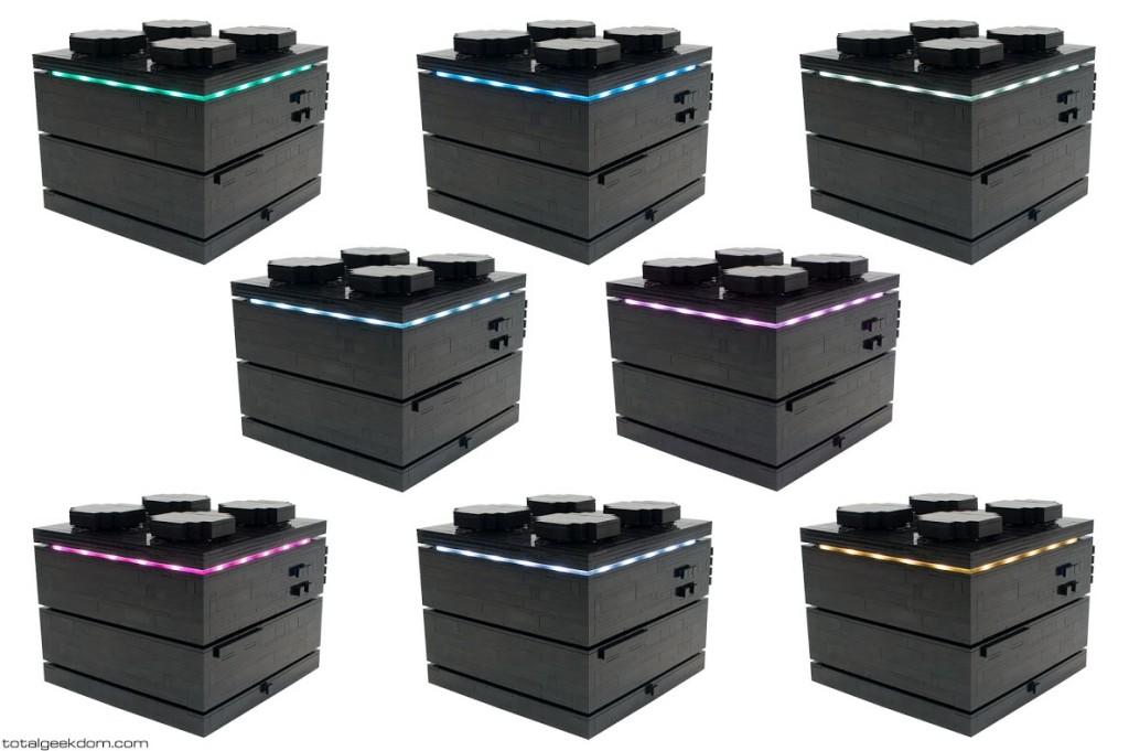 Lego Computer LED Colors Brick Version