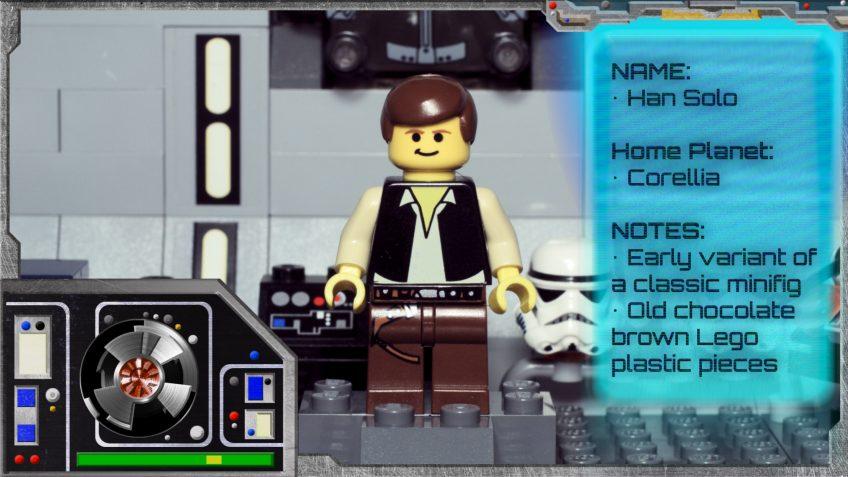 Minifig Galaxy 'Classic LEGO Star Wars' Han Solo Set 10123 – 2003