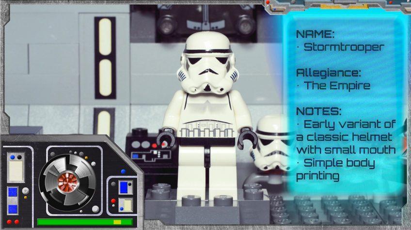Minifig Galaxy 'Classic LEGO Star Wars' Stormtrooper Set 6211 – 2006