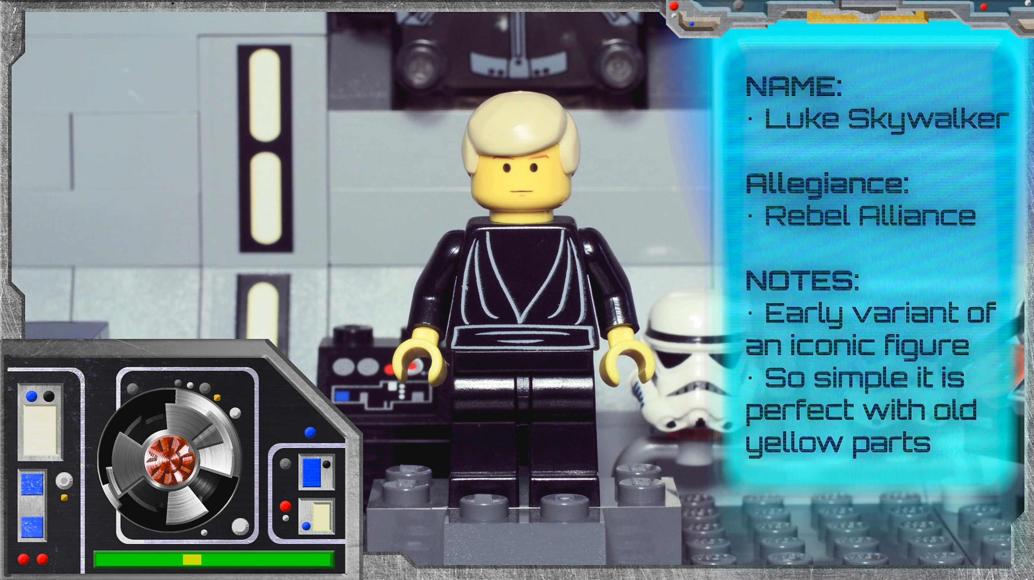 Minifig Galaxy 'Classic LEGO Star Wars' Luke Skywalker Set 7104 – 2000