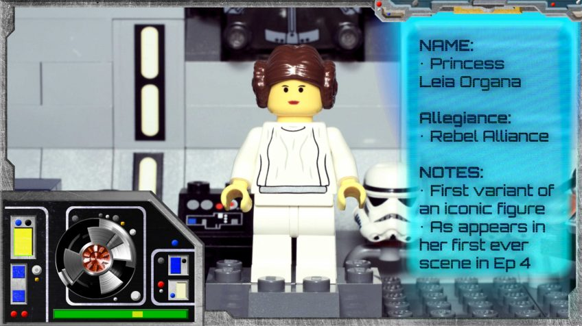 Minifig Galaxy 'Classic LEGO Star Wars' Princess Leia Set 7190 – 2000