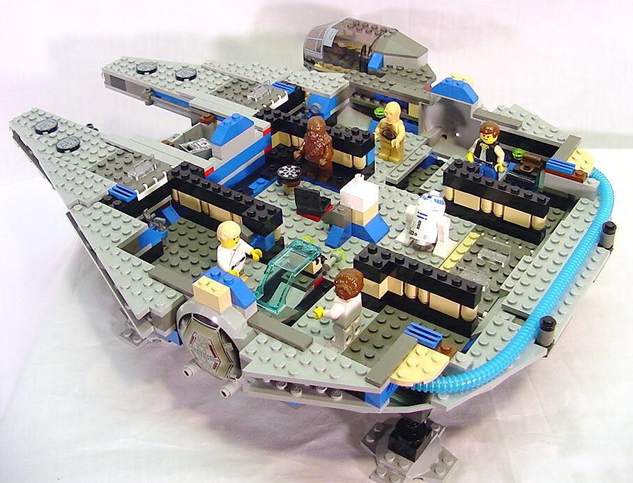 Minifig Galaxy 'Classic LEGO Star Wars' Princess Leia Set 7190 ...