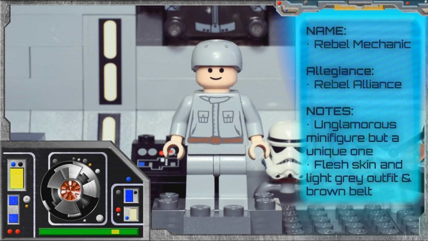 LEGO Star Wars Minifig Collector Series: Rebel Mechanic