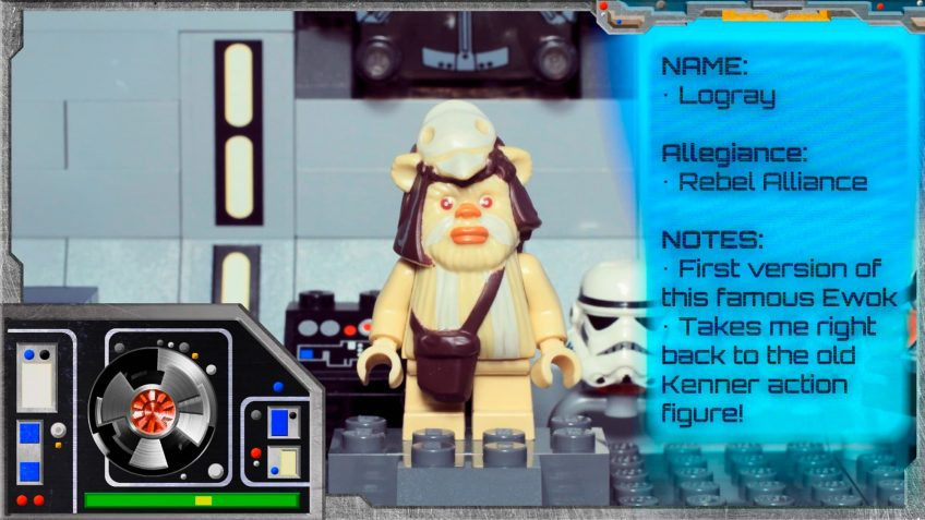 LEGO Star Wars Minifigure Collection – Logray 7956