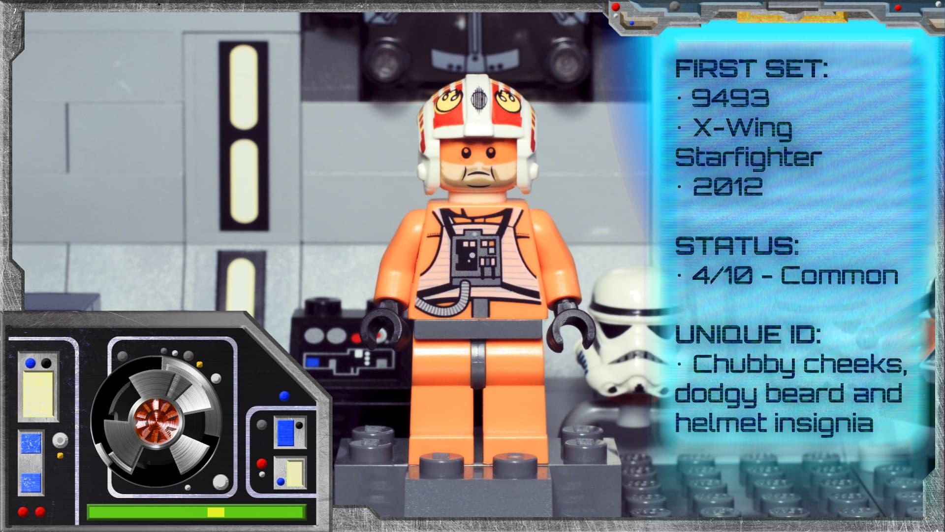 LEGO Star Wars Minifigure Collection - Jek Porkins 9493 ...